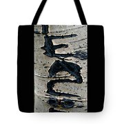 Peace Written In The Trees 4 Tote Bag