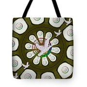 Peacedoves Bringing Peace To The Earth Tote Bag