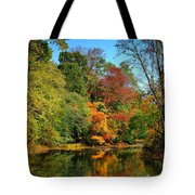 Peaceful Calm - Allaire State Park Tote Bag