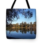 Peaceful Day At The Park Tote Bag