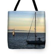 Peaceful Day In Santa Barbara Tote Bag