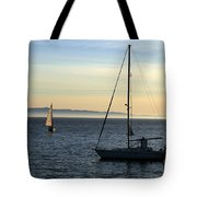 Peaceful Day In Santa Barbara Tote Bag