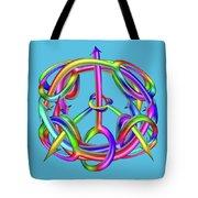 Peaceful Dicks  Tote Bag