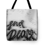 Peaceful Find Tote Bag