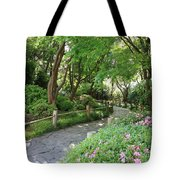 Peaceful Garden Path Tote Bag