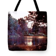 Peaceful In Infrared No1 Tote Bag