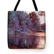 Peaceful In Infrared No2 Tote Bag