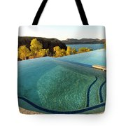 Peaceful Infinity Tote Bag