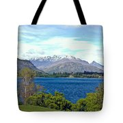 Peaceful Lake -- New Zealand Tote Bag