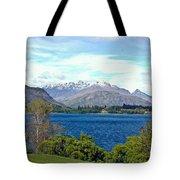 Peaceful Lake -- New Zealand Tote Bag