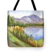 Peaceful Lake Tote Bag