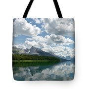 Peaceful Maligne Lake Tote Bag