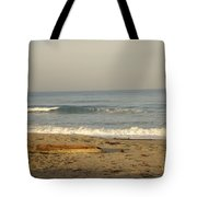 Peaceful Morning Beach Tote Bag