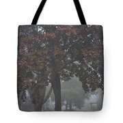 Peaceful Morning Mist Tote Bag
