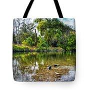 Peaceful Morning On Cibolo Creek Tote Bag
