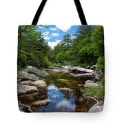 Peaceful Morning On The Peterskill Tote Bag