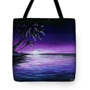 Peaceful Night Tote Bag