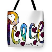 Peaceful Pasttimes Abstract Inspirational Art By Omaste Witkowsk Tote Bag