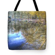 Peaceful Pond Reflections  Tote Bag