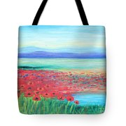 Peaceful Poppies Tote Bag
