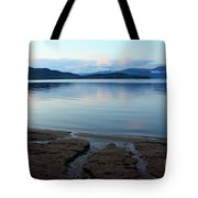 Peaceful Priest Lake Tote Bag