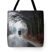 Peaceful Road Tote Bag