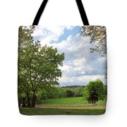Peaceful Setting Tote Bag