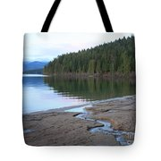Peaceful Spring Lake Tote Bag