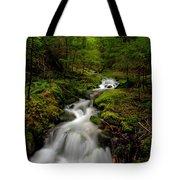 Peaceful Stream Tote Bag by Mike Reid