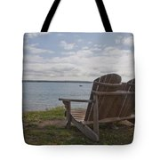 Peaceful Sunday Morning Tote Bag