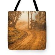 Peaceful Tasmania Country Road Tote Bag