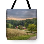 Peaceful Valley Tote Bag