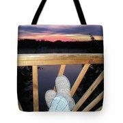Peaceful View Tote Bag