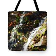 Peaceful Waterfall Tote Bag