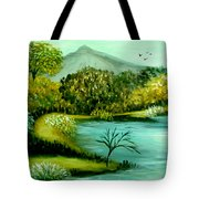 Peaceful  Waters 2 Tote Bag