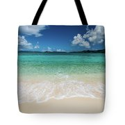 Peaceful Waves Tote Bag