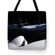 Peaceful Winter Scene Tote Bag