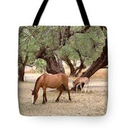 Peacefully Grazing Tote Bag