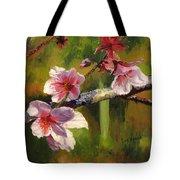 Peach Blossom Time Tote Bag