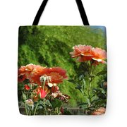 Peach Colored Beauties Tote Bag