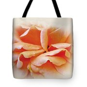 Peach Delight Tote Bag by Kaye Menner