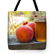 Peach Jelly Tote Bag