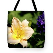 Peach Lily Tote Bag