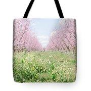 Peach Orchard 4 Tote Bag