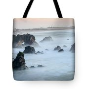 Peach Sky At Arched Rock Tote Bag