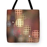 Peach Windows Tote Bag