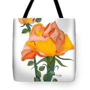 Peaches And Creme Tote Bag