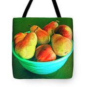 Peaches And Pears Tote Bag