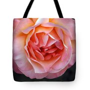 Peachy Rose Tote Bag