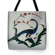 Peackok Tote Bag